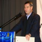Staatsminister Markus Söder in Spiegelau