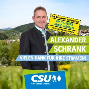 Kandidaten-Posts (Stichwahl)